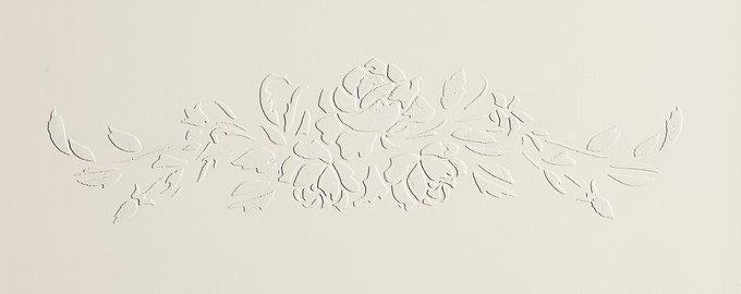 "Комод ""Belle Fleur Coloré"" с объемным рисунком"