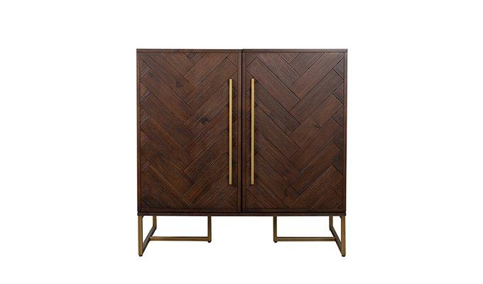 Шкаф Class темно-коричневого цвета