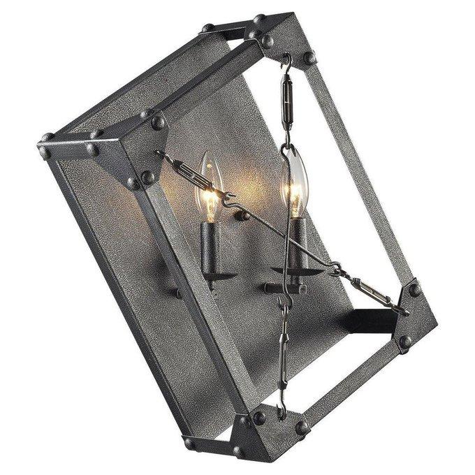 Настенный светильник Loft серого цвета
