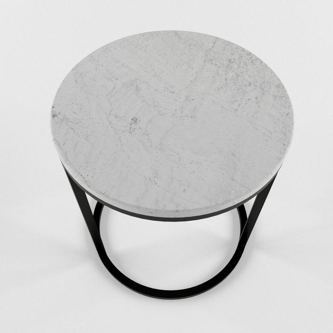 Журнальный столик с мраморной столешницей BUBI