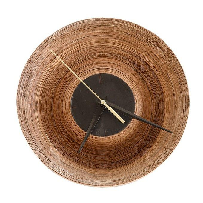 Часы настенные кварцевые Clo орех