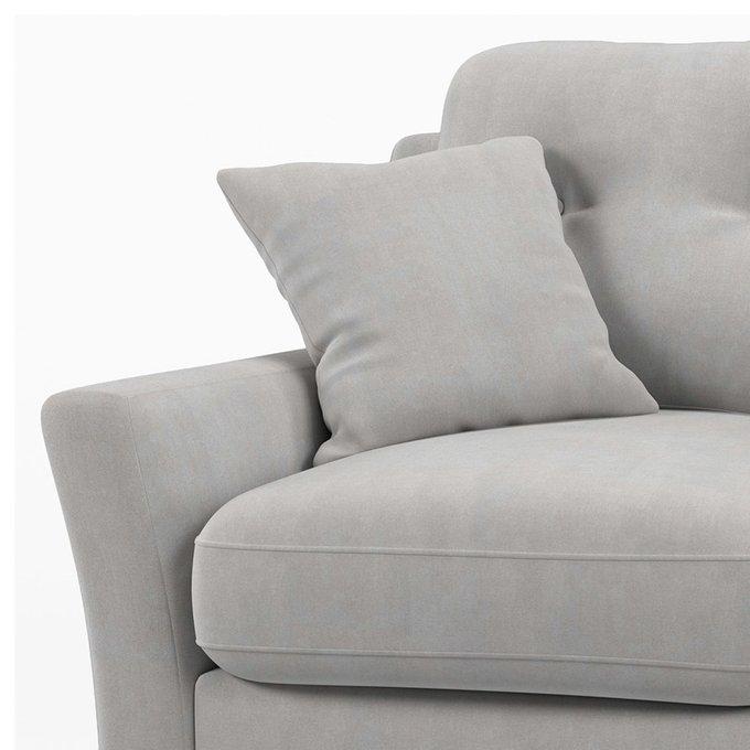 Диван двухместный Raf MT серого цвета