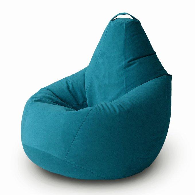 Кресло-мешок Груша Комфорт Муссон  бирюзового цвета