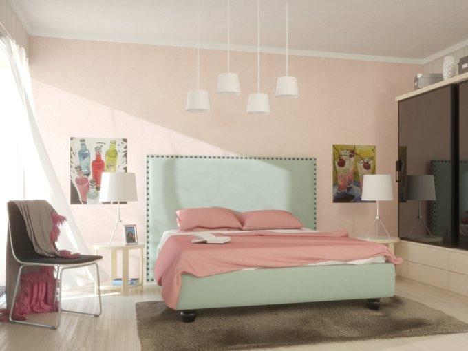 Кровать Blues с высокой спинкой 180х200