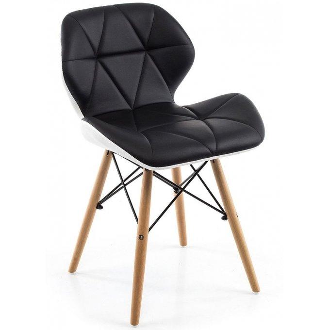 Обеденный стул с ножками из массива бука