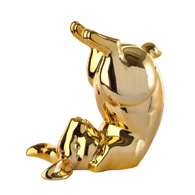 Статуэтка Bunny bum золотого цвета