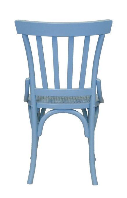 Венский стул Jax Blue синего цвета
