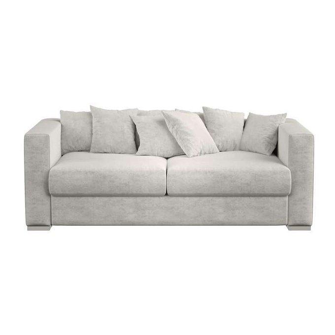 Двухместный диван  Lounge светло-серого цвета