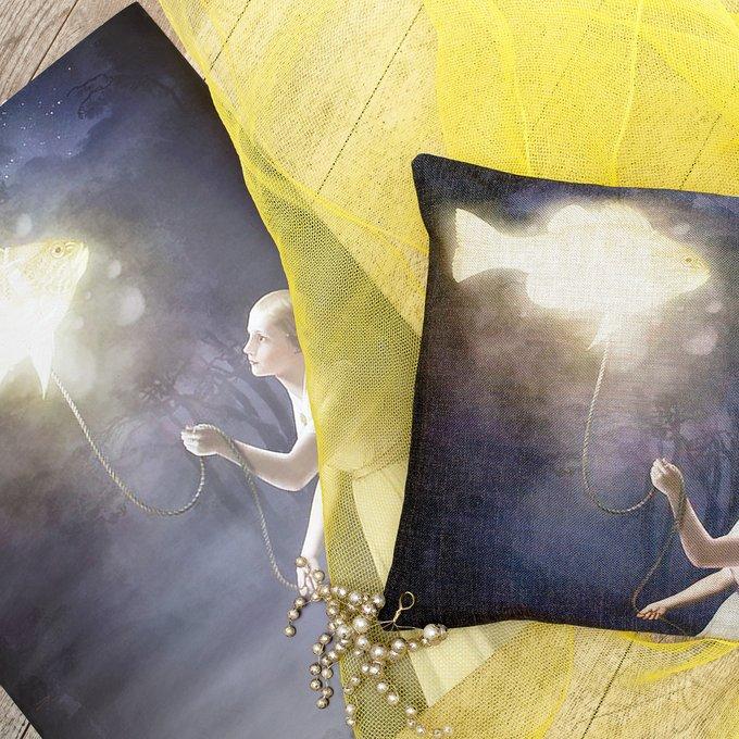 Арт-постер Золотая рыбка