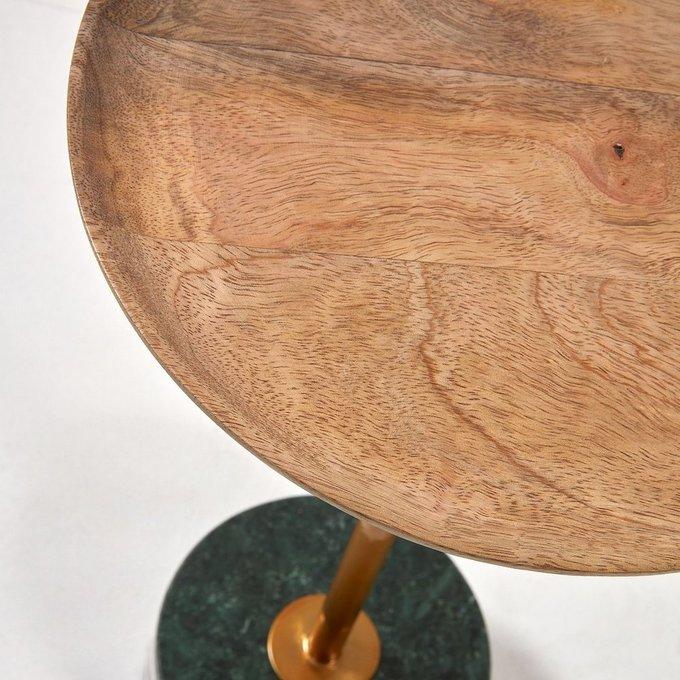 Журнальный стол Lleyton со столешницей из дерева