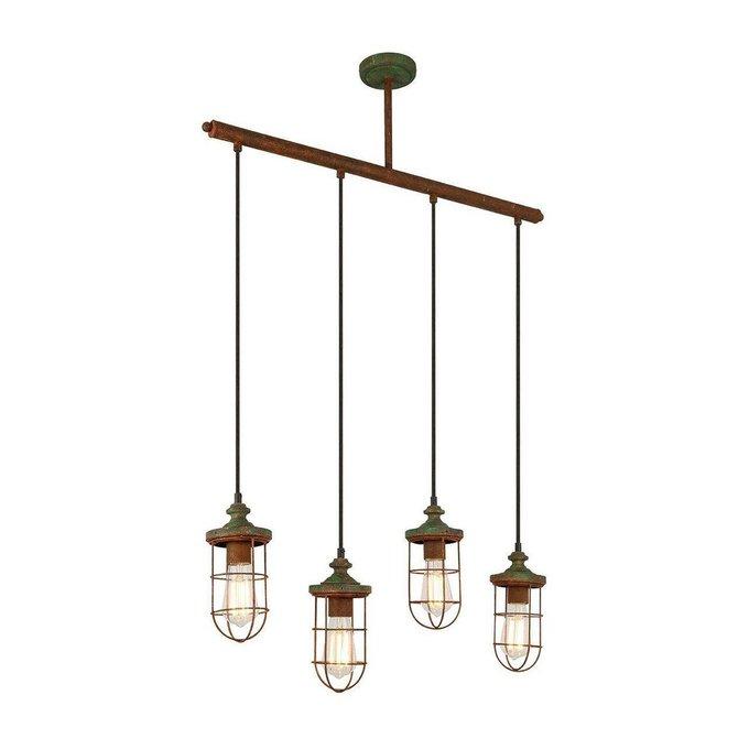 Подвесной светильник  Teru коричневого цвета