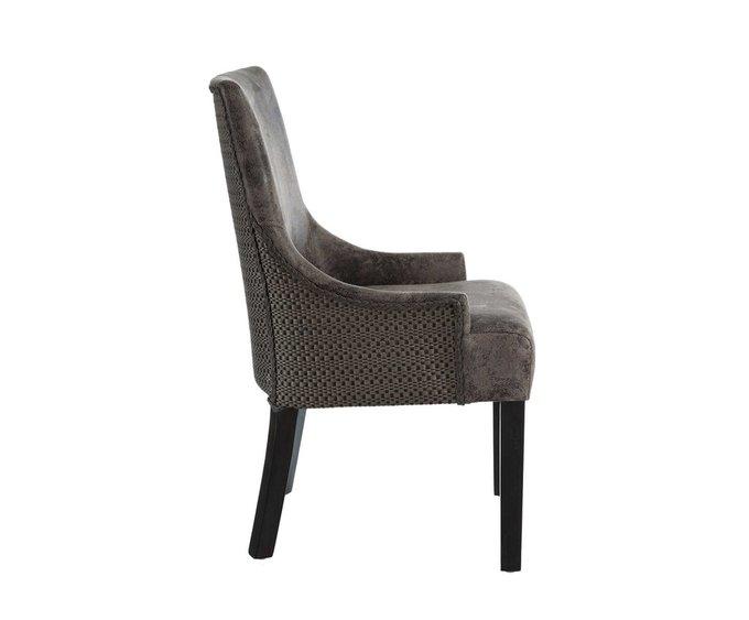 Кресло с обивкой из экокожи