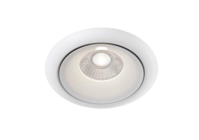 Встраиваемый светильник Yin белого цвета