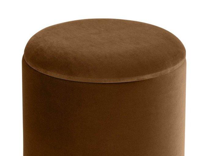 Пуф Self коричневого цвета