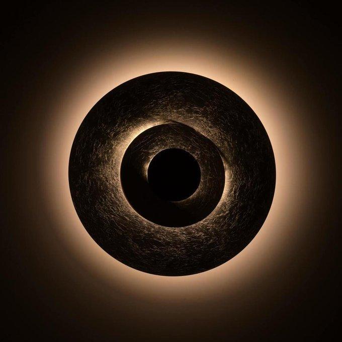 Потолочный светодиодный светильник RegenBogen Life Галатея серого цвета