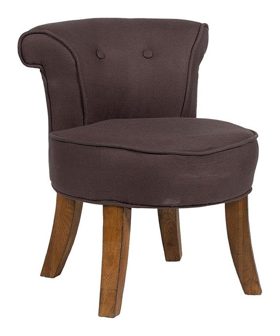 Кресло Borgia с обивкой из натурального льна