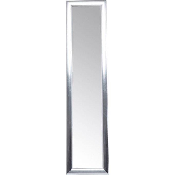 Зеркало напольное Modern Living серебристого цвета