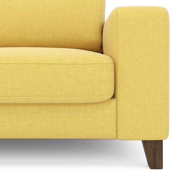 Диван Ruby ST трехместный желтого цвета