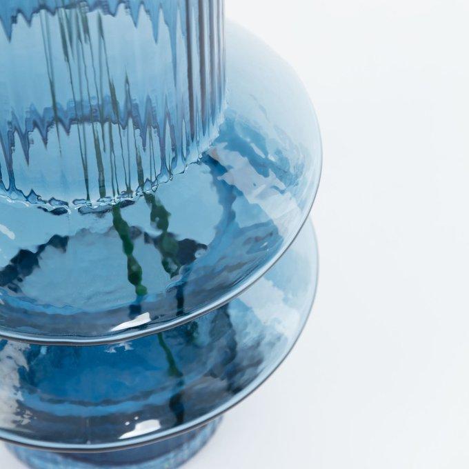 Ваза Dadal Blue Vase из синего стекла