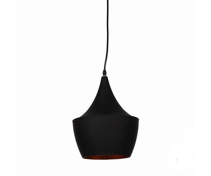 Подвесной светильник Курт черного цвета
