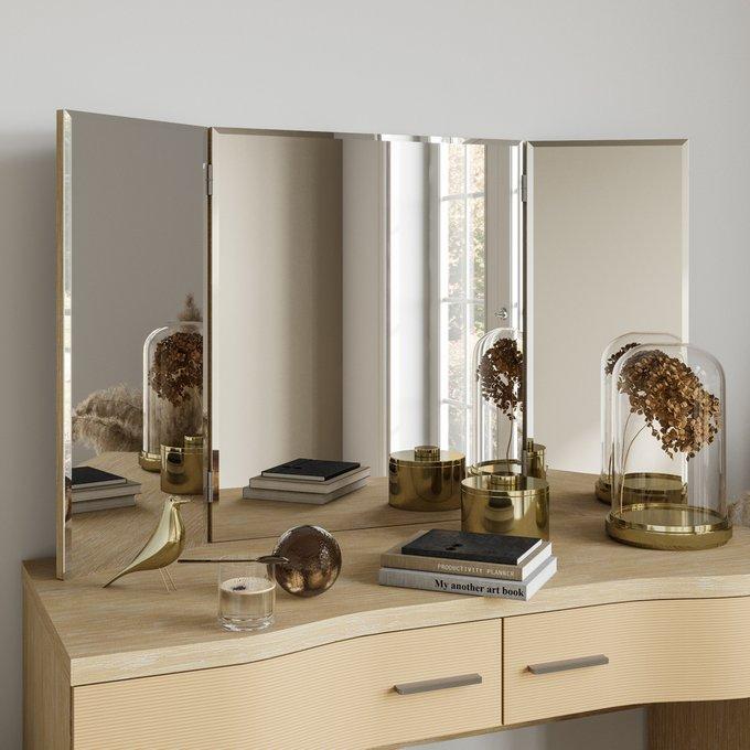 Зеркало-трельяж Элеонора цвета Дуб янтарь