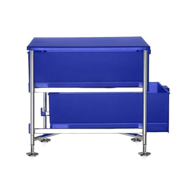 Тумба Mobil синего цвета