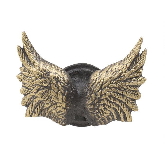 Крылья крючок золотого цвета