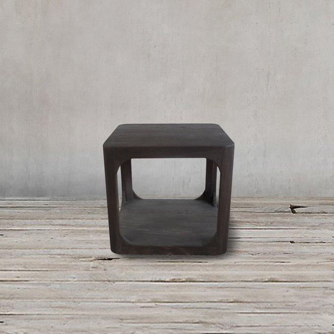 Стол кофейный из массива вяза