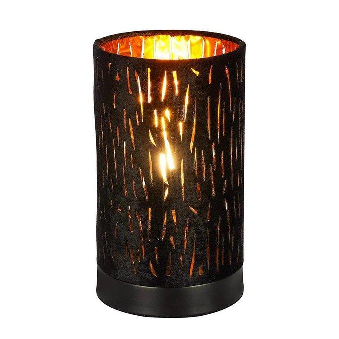 Настольная лампа Tuxon черного цвета