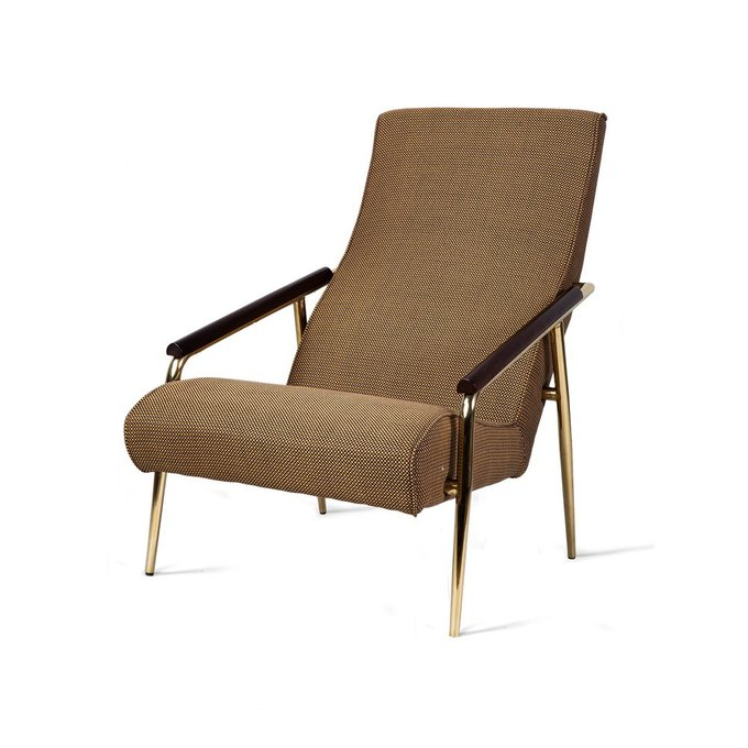 Кресло Evimera коричневого цвета