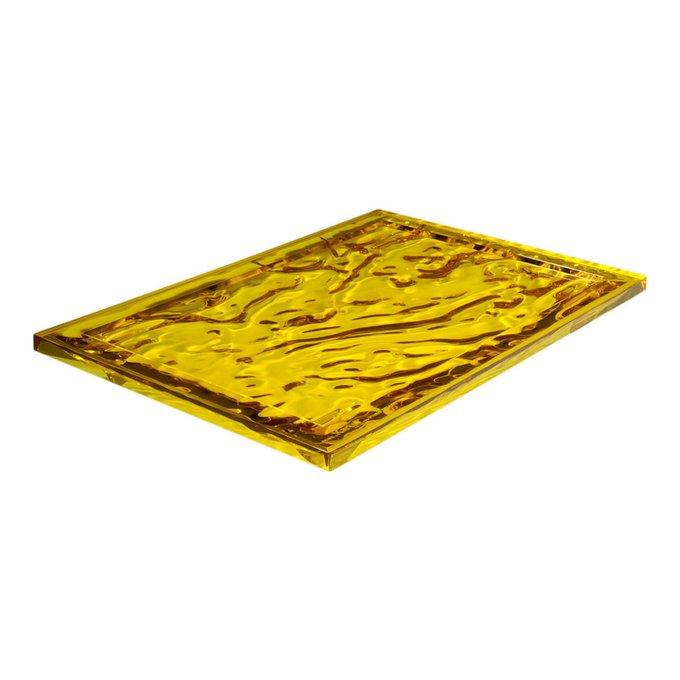 Поднос Dune желтого цвета