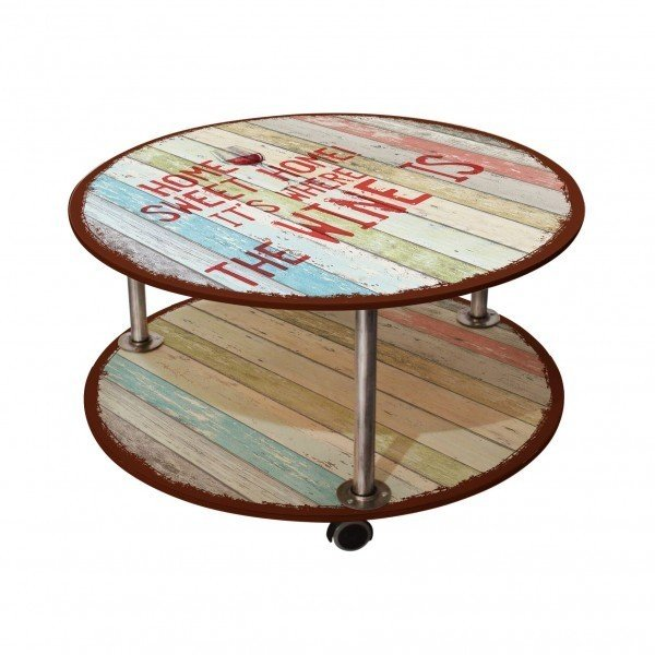 Журнальный столик Sweet home на колесиках