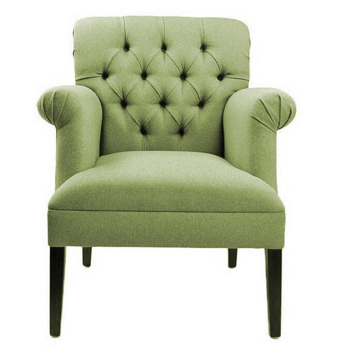 Кресло Уильям зеленого цвета