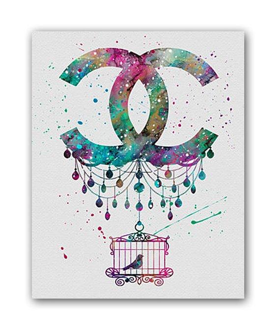"Постер ""Chanel"""