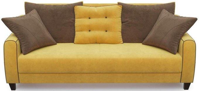 Диван-кровать прямой Френсис Флэтфорд желтого цвета