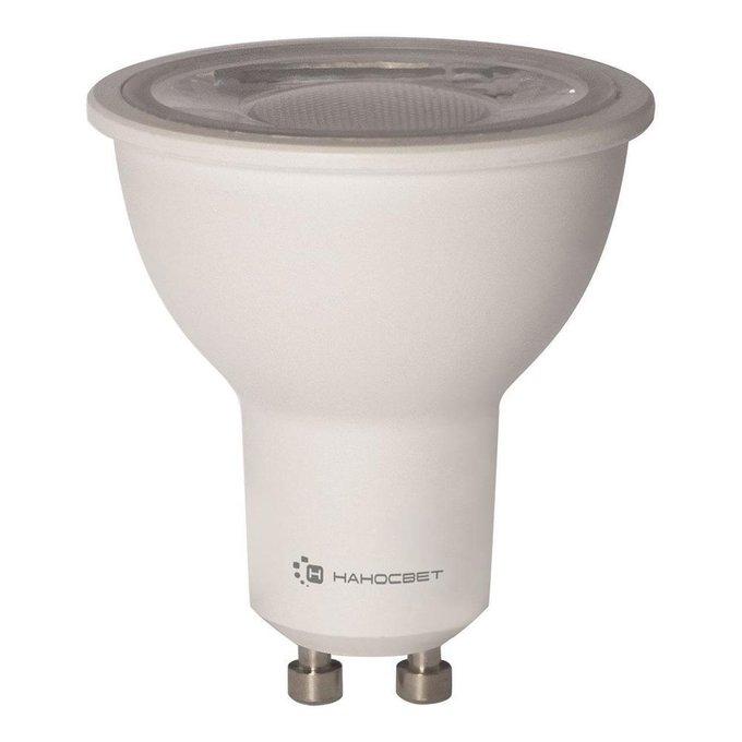 Лампа светодиодная Полусфера прозрачная из пластика