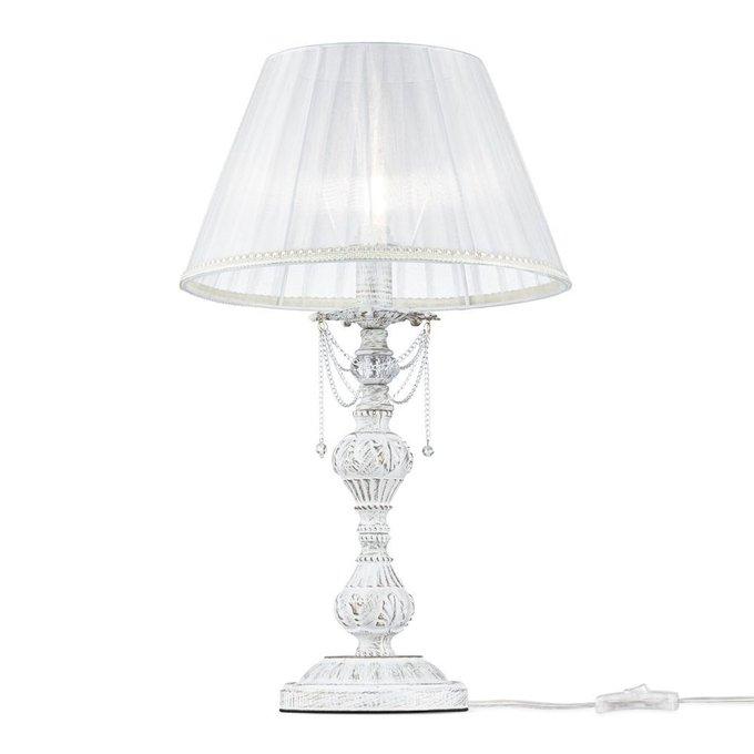 Настольная лампа Lolita с плафоном из органзы