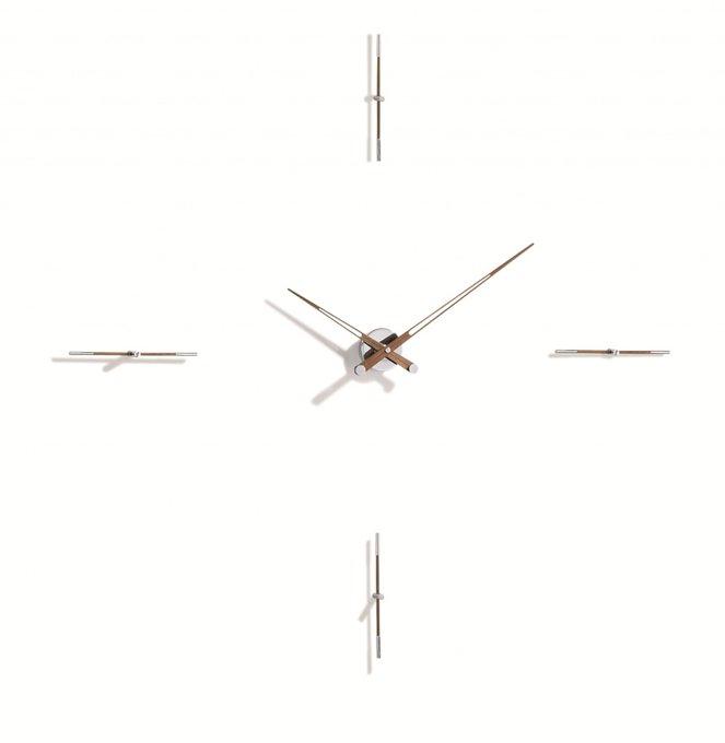 Настенные часы Merlin с деревянными стрелочками