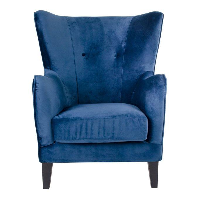 Кресло Campo синего цвета