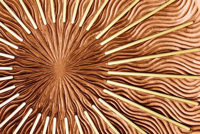 Настенный декор INCIPIENT bronze