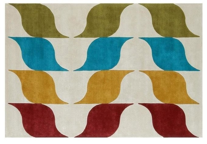 Ковер Amusee разноцветный 200x300