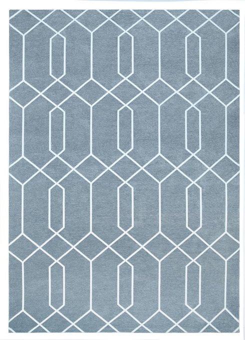 Ковер Maroc серого цвета 160х230
