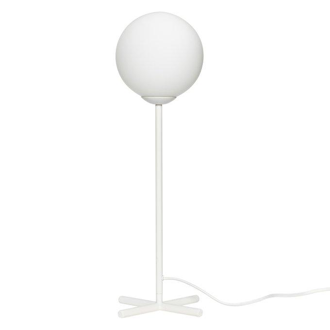 Настольная лампа Bulb белого цвета