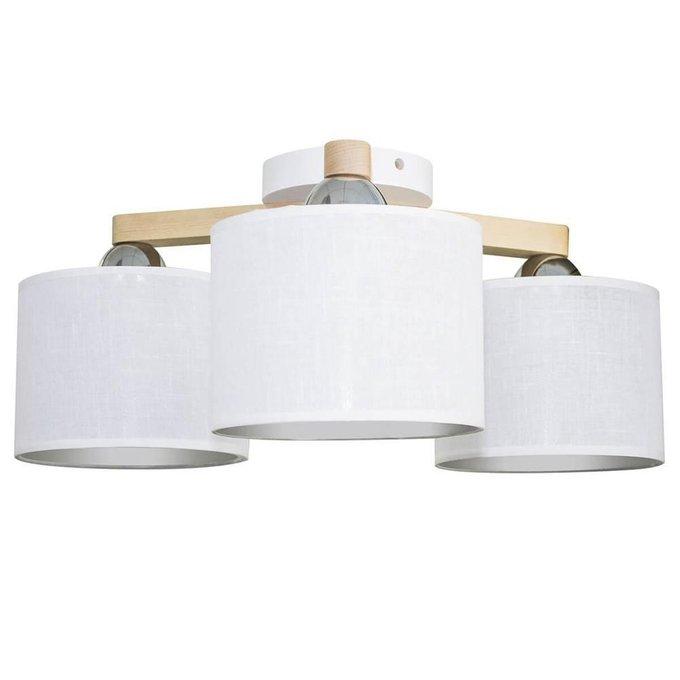 Потолочный светильник Белла белого цвета