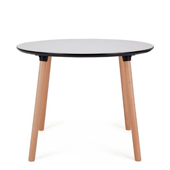 Обеденный стол Valencia Round с обрамлением из пластика