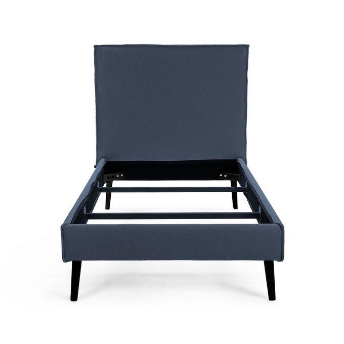 Кровать Этель 160х200 синего цвета