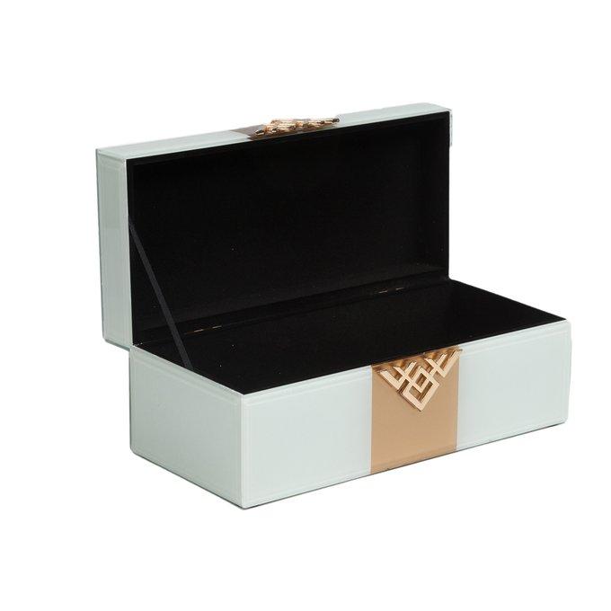 Корбка для ювелирных украшений Akoni Белая