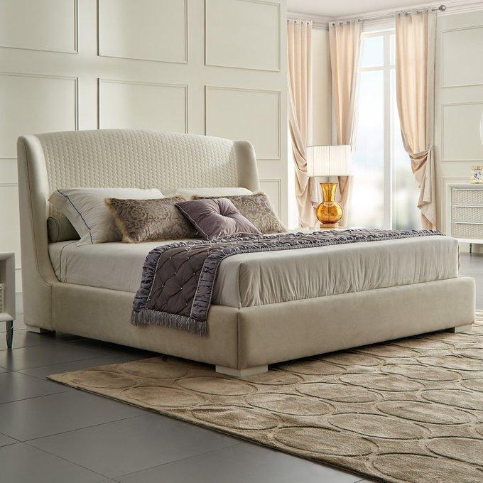 Кровать с решеткой Roma с высоким изголовьем 180x200