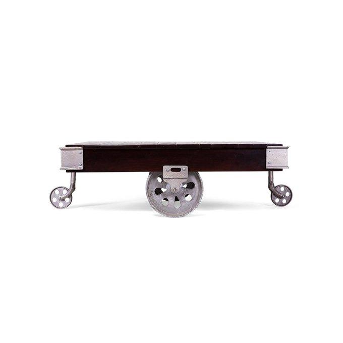 Журнальный стол Carro темно-коричневого цвета
