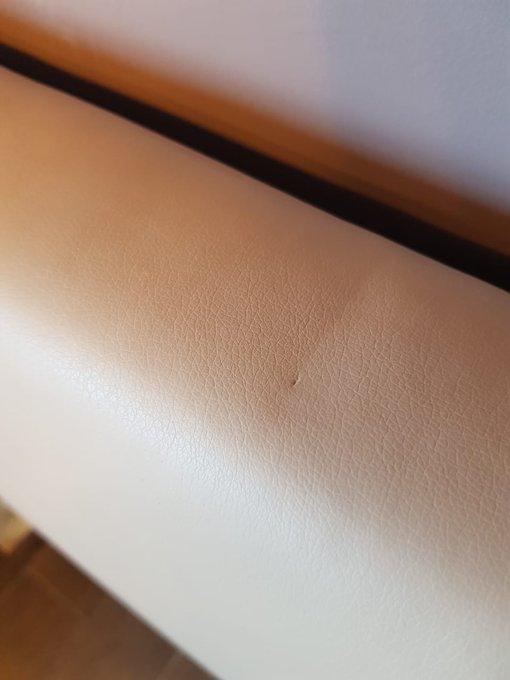 Кровать Лора 180х200 бежевого цвета
